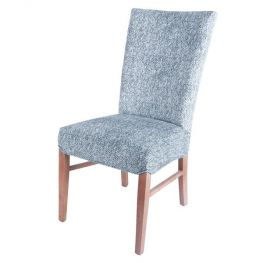 Milton Indigo Fabric Chair