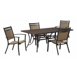 Carmello Rectangular Outdoor Dining Table