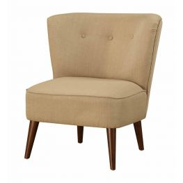 Jettie Gold Accent Chair