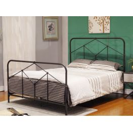 Montoya Queen Metal Bed