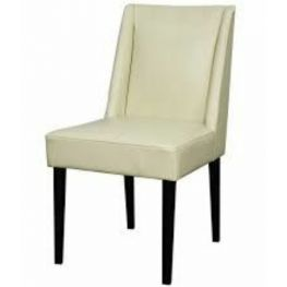 Javon Beige Leather Chair
