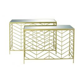 Bend Glass Console Table 2