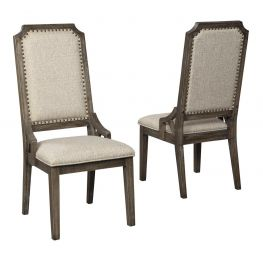 Wyndahl Rustic Brown Dining Uph Side Chair