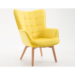 Margaux Yellow  Accent Chair
