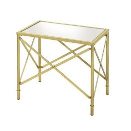 Mirrored Glam Accent Table