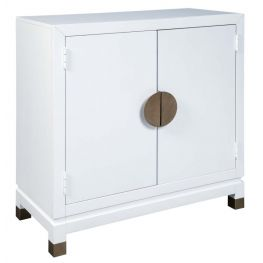 Conifer Accent Cabinet White