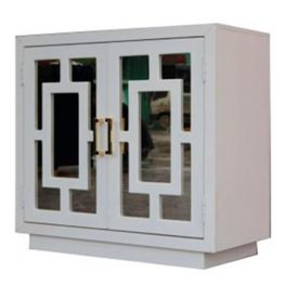 Conifer Geometric Accent Cabinet