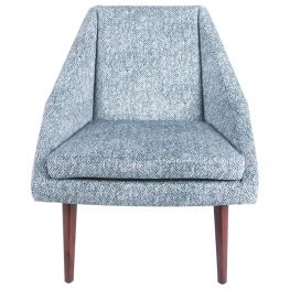 Laporte Indigo Accent Chair