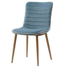 Darla Velvet Conrad Teal Chair