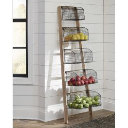 Graph Natural/ Black Rack Shelf