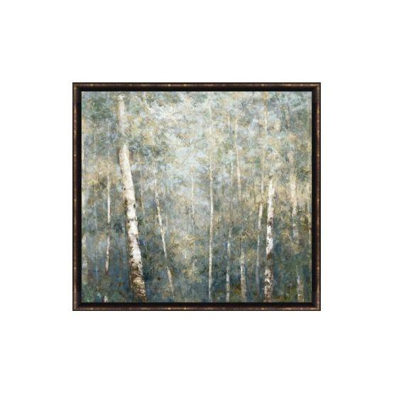 Framed Birch Trees Wall Art