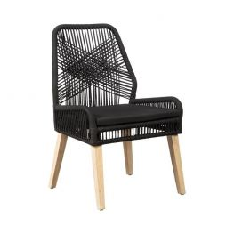Carter Black/Weathered Dining Chair