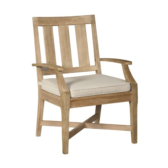 Clare View Beige Arm Chair With Cushion (2/Cn) on Clare View Beige Outdoor Living Room id=57618