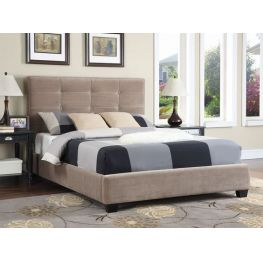 Vicki King Upholstered Bed