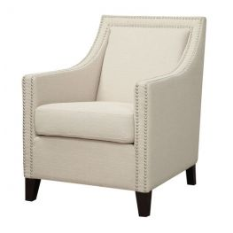Janae Accent Chair with Nailhead