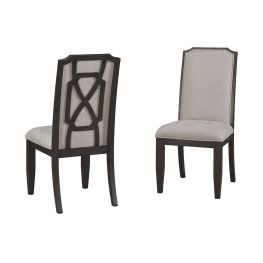Zimbroni Beige Dining Uph Side Chair